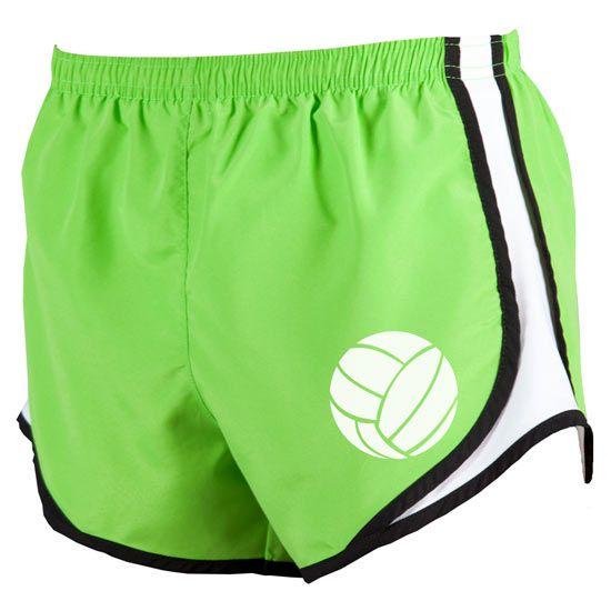 Volleyball uniform shorts