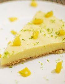 Cantinho Vegetariano: Torta Gelada de Pêssego (vegana)