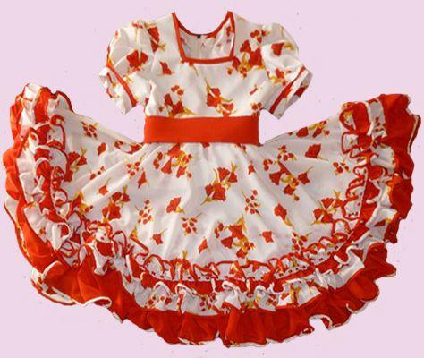 Huasa chilena, Vestidos de china - Infante
