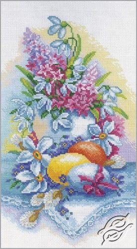 Still Life - Easter - Cross Stitch Kits by RTO - M262