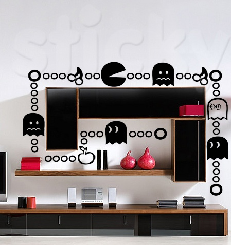 Wall Sticker PAC MAN by Sticky!!!