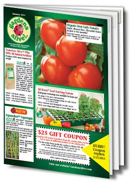 Request a Gardening Catalog from Gardens Alive!