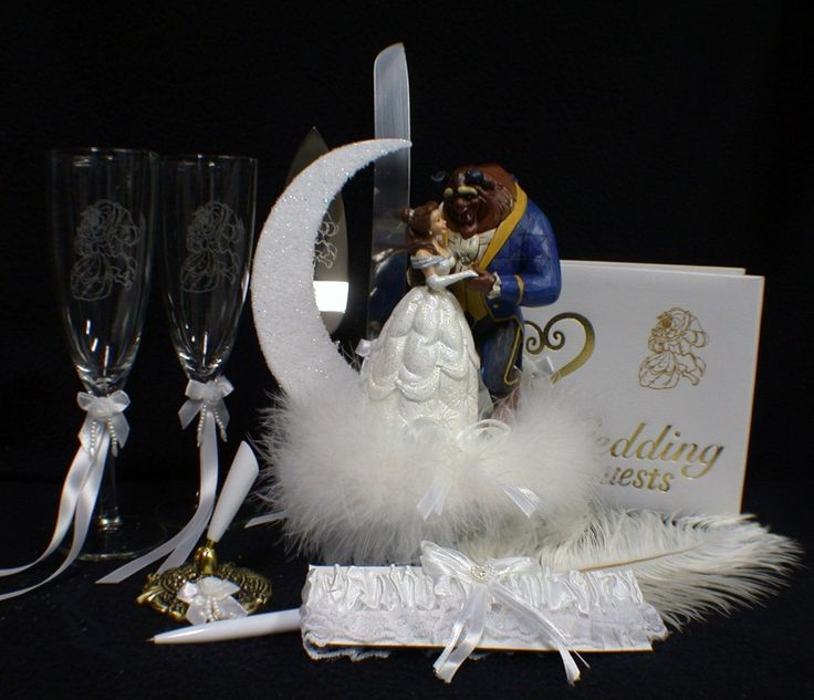 disney wedding cake cutter disney and the beast wedding cake topper lot 13578