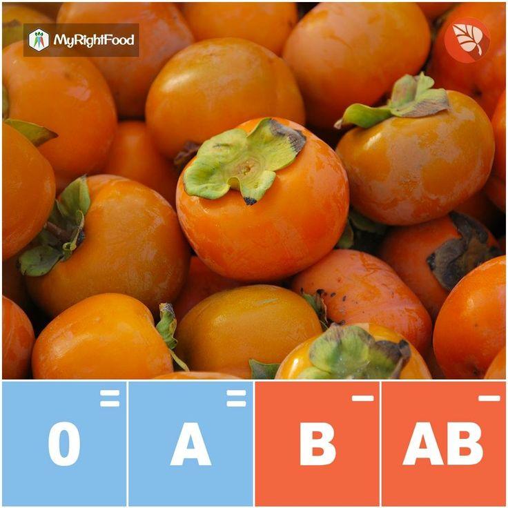 Autunno: I cachi sono frutti ricchi di vitamina C, betacarotene e di minerali come il potassio. Per la dieta dei gruppi sanguigni sono un alimento: NEUTRO per il gruppo 0, NEUTRO per il gruppo A, NEUTRO per il gruppo B e SCONSIGLIATO per il gruppo AB.  Trova gli alimenti giusti su http://myrightfood.com #myrightfood #senzaglutine #dietagruppisanguigni #alimentazionesana #cachi #autunno #gruppo0 #gruppoa