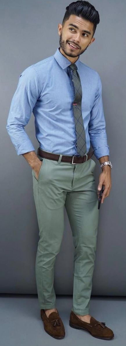 Types Of Office Pant Styles All Men Should Own