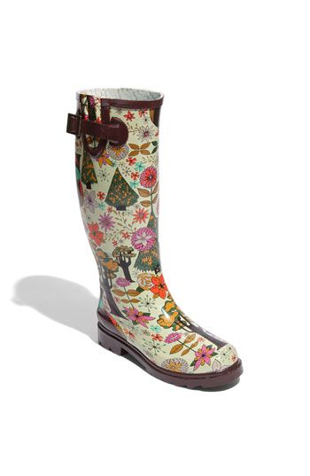 Chooka 'Gypsy Owl' Rain Boot. I want these too!