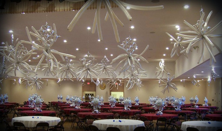 Quinceanera balloon decor decoracion con globos for Balloon decoration ideas for a quinceanera