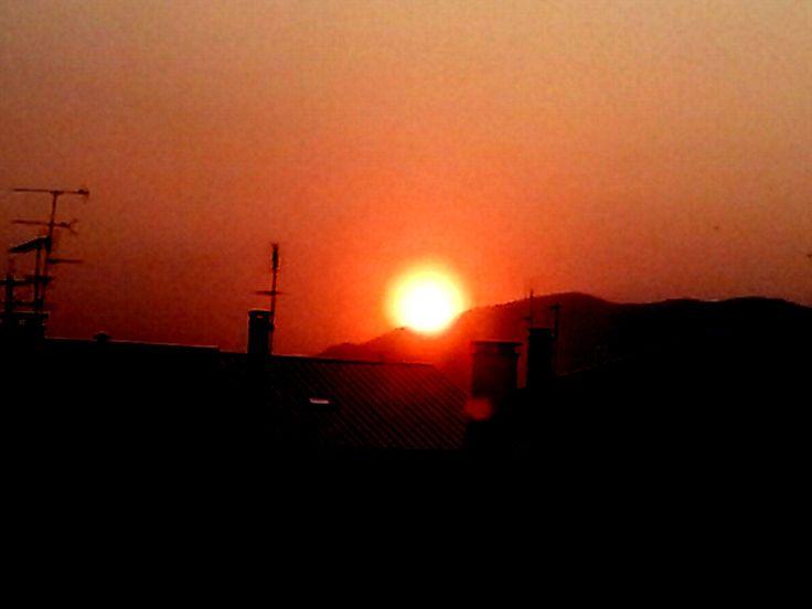 Marão Pôr do Sol Luz