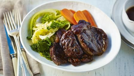 Tom Kerridge Shin of beef with ginger, carrot and cabbage