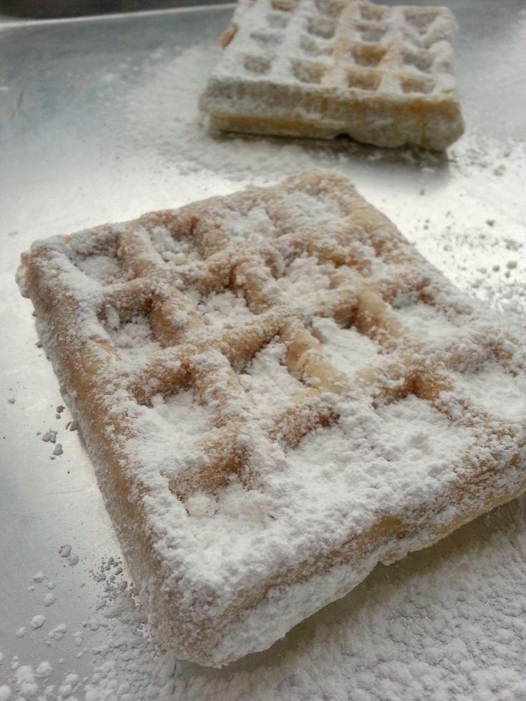 chica chocolatina: Funnel Cake Waffles
