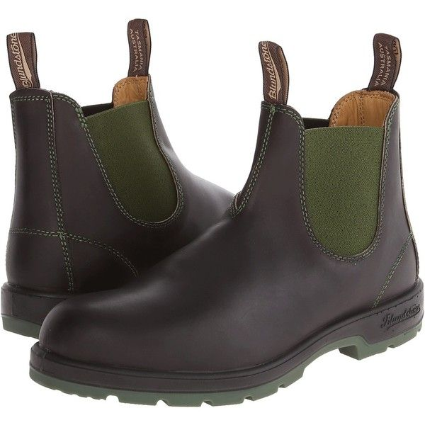 Blundstone 1402 Pull-on Boots ($185) ❤ liked on Polyvore featuring shoes, boots, mid-calf boots, pull on shoes, slipon boots, blundstone footwear, stitch shoes and slip on boots