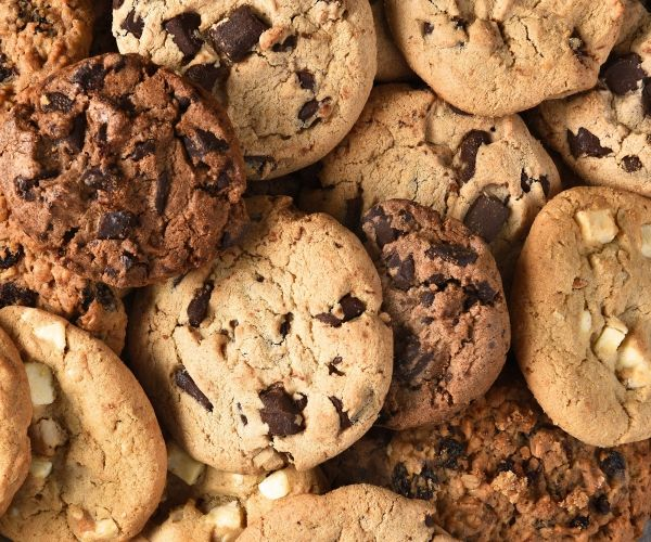9 receitas de cookies maravilhosos