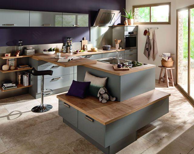 Les Meilleures Idées De La Catégorie Ilot Central Cuisine - Table de cuisine haute conforama pour idees de deco de cuisine