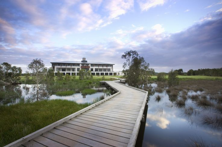 Kooindah Waters Residential Golf Resort #golfresort #centralcoast #sustainable #waterviews #architecture #ptwarchitects