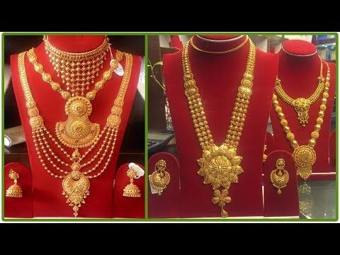 d779725b514 Latest Gold Necklace Designs With Weight | Simple Gold Necklaces Designs  With Weight And Price - YouTube