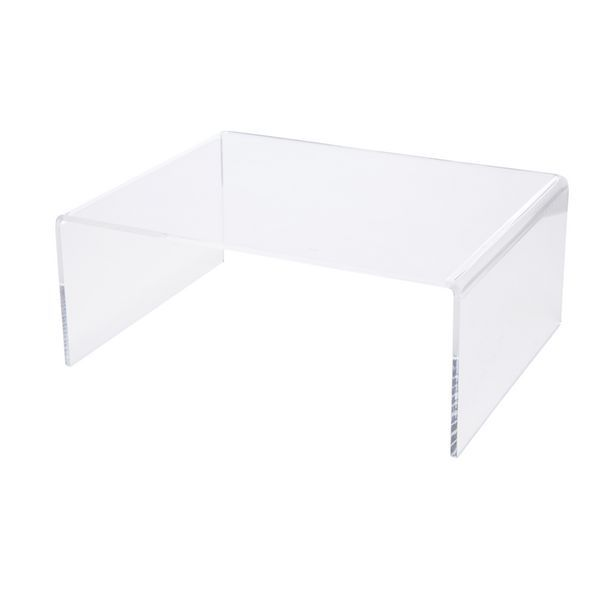 X Large Desk Riser Acrylic Clear image