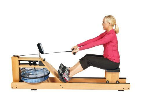 Special Price  H2O Fitness Seattle Wooden Rower WRX-1000 Water Rowing Machine