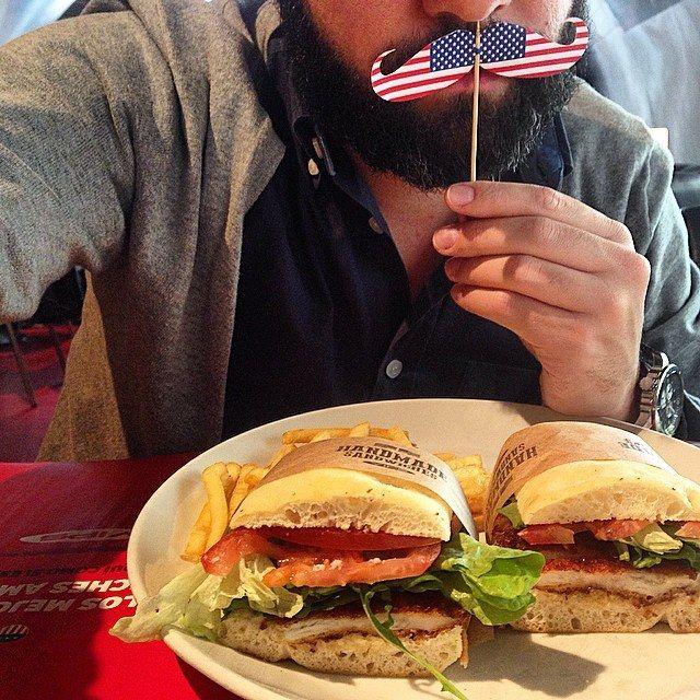 ¿Conoces nuestro sándwich César? #Sándwiches #Americanos ¡Te esperamos!