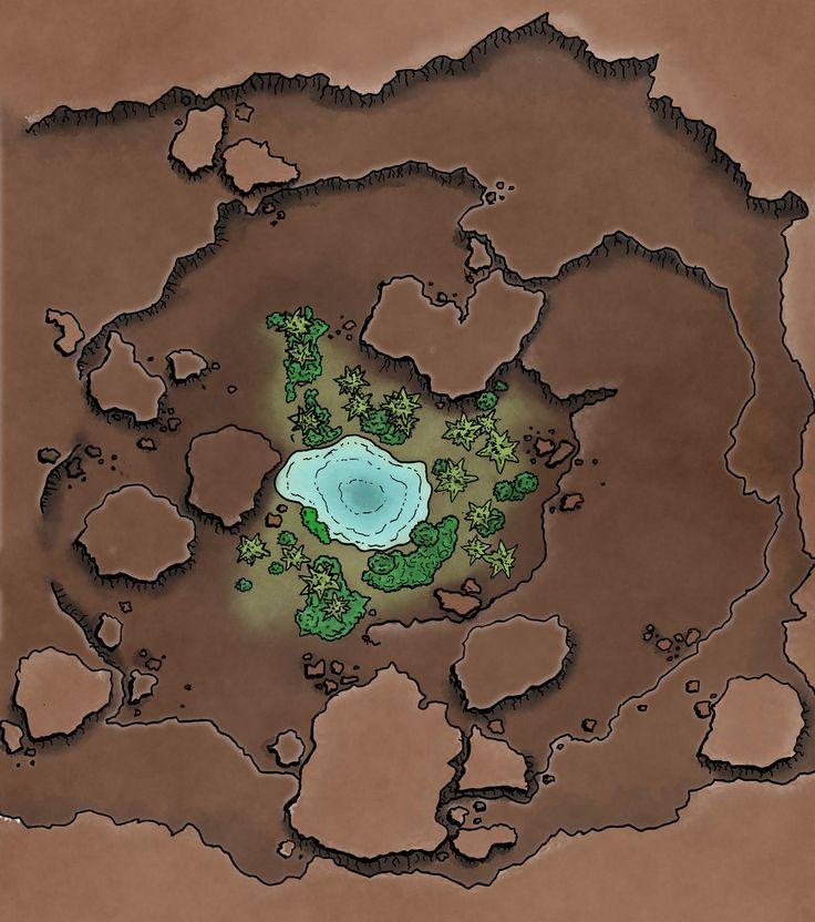 Desert Battle maps for dnd Album