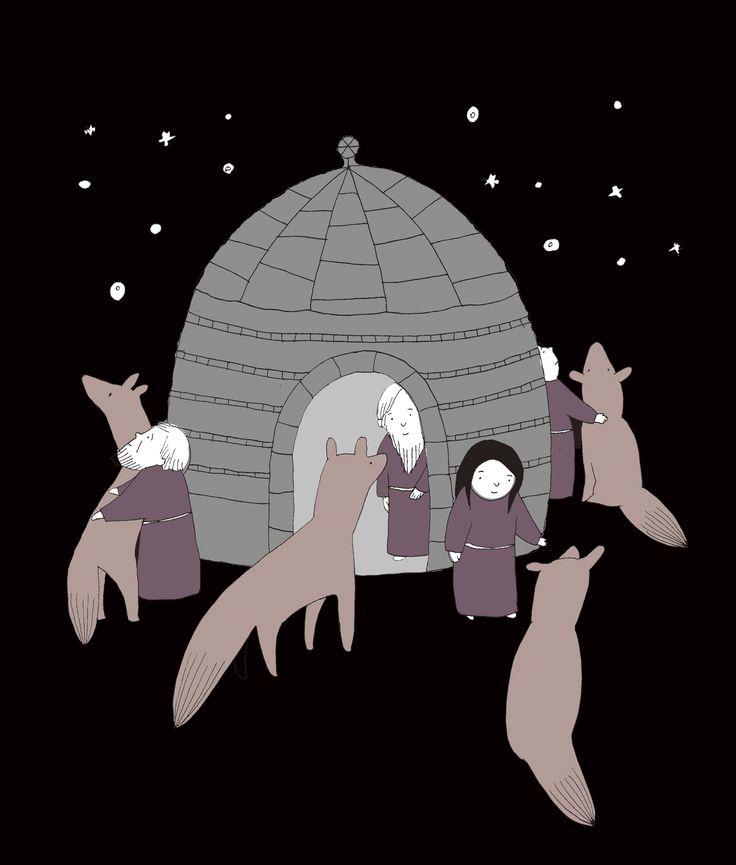 星を見る | シャンティーのイラストレーション通信rararashanty