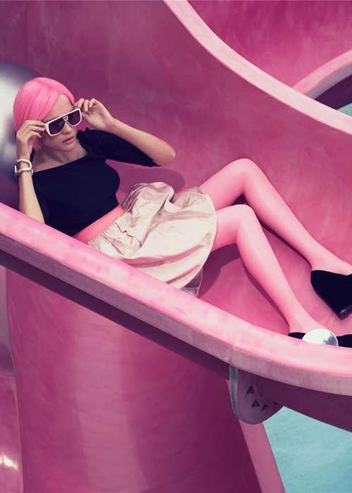 Natalia Vodianova by Craig McDean for W Magazine