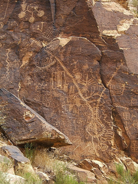 ~ Parowan Gap ~ It is a BLM-administered national historical site 10 miles west of Parowan....