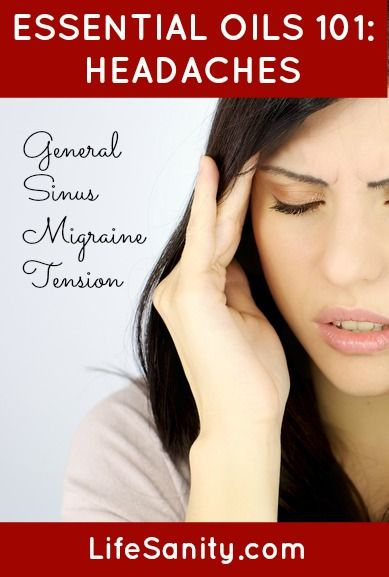 Essential Oils 101: Headaches | Life Sanity