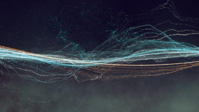 「サイン波」だけで映像と音を構築したアンビエント作品が心地よすぎる(動画)