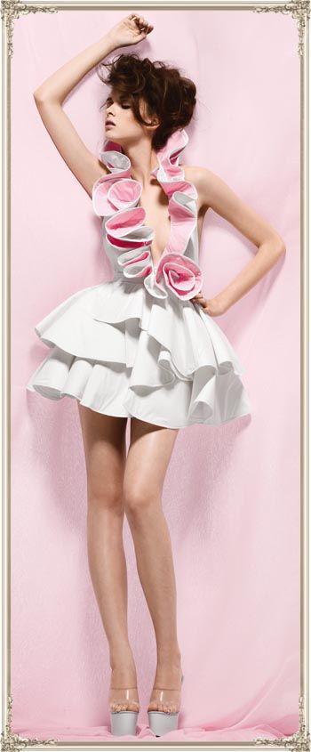Toilet paper dress                                                                                                                                                                                 More