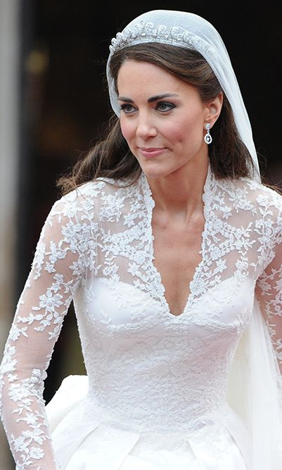 Kate Middletons Wedding Dress A Closer Look At The Alexander McQueen Creation