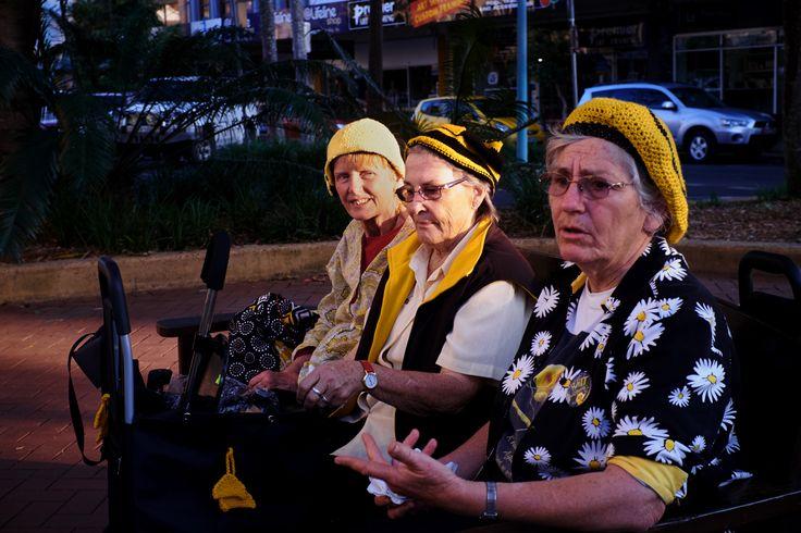 Nanny Knitters against Seam Coal