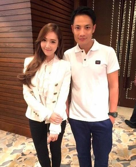 Romantically engaged boyfriend and girlfriend: Tyler Kwon and Jessica Jung
