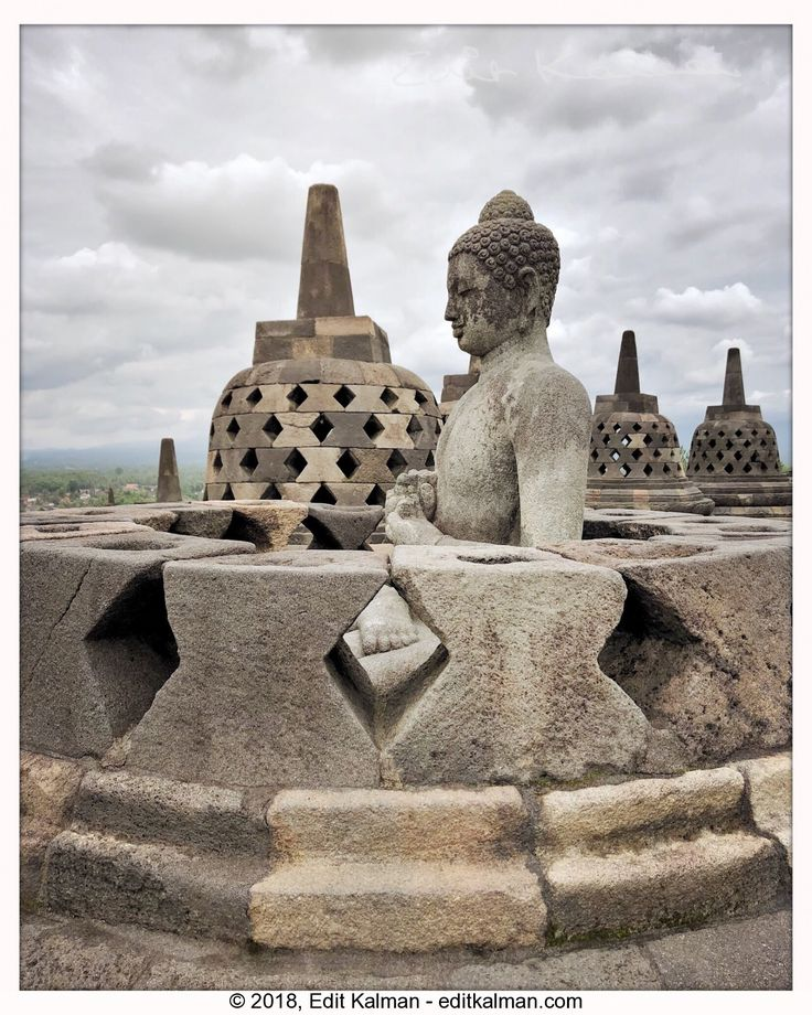 The Path of the Buddha #Ancient, #Asia, #Borobudur, #Buddha, #Buddhism, #Buddhist, #Heritage, #Holy, #Indonesia, #Jogja, #Pilgrimage, #Sculpture, #Statue, #Stupa, #Temple, #Tourism, #Travel, #Yogyakarta - https://goo.gl/1wKm54