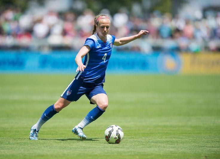 Becky Sauerbrunn. (U.S. Soccer)