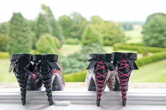 Biker Wedding shoes   Emerson Photography