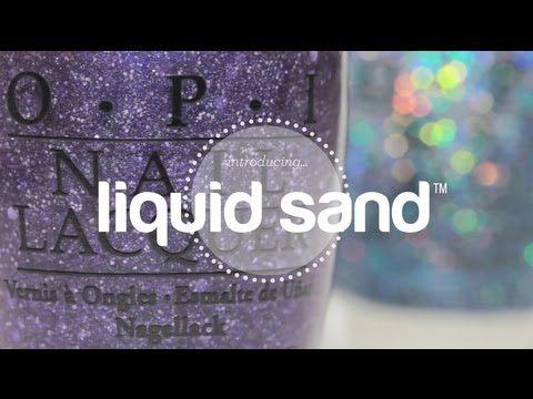 Try It On: OPI Liquid Sand