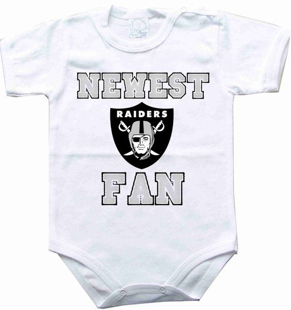 Baby bodysuit Newest fan Oakland Raiders football NFL One Piece Bodysuit Funny Baby Child boy girlens Clothing Kids Shower boy baby    CONDITION :