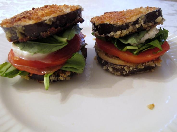 Eggplant Burgers Recipe — Dishmaps