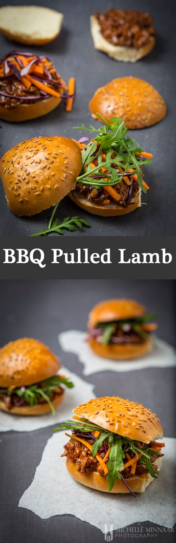 "BBQ Pulled Lamb {NEW RECIPE} The softest, juiciest, melt in your mouth ""pulled lamb"". Let it cook all day long and serve it any way you please, even if it's pulled lamb bbandwiches with pickles and a salad for dinner tonight."