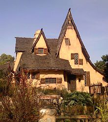 Spadena House (aka The Witch's House) in Beverly Hills