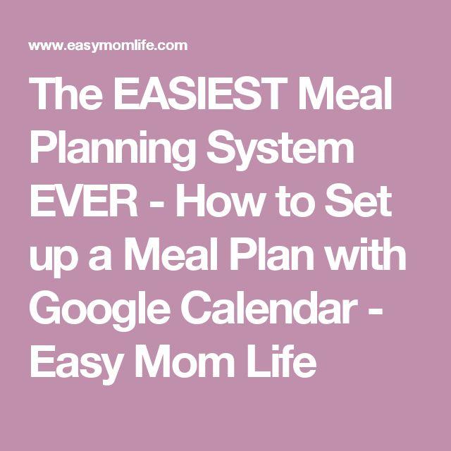 Ponad 25 najlepszych pomysłów na Pintereście na temat Meal - meal calendar