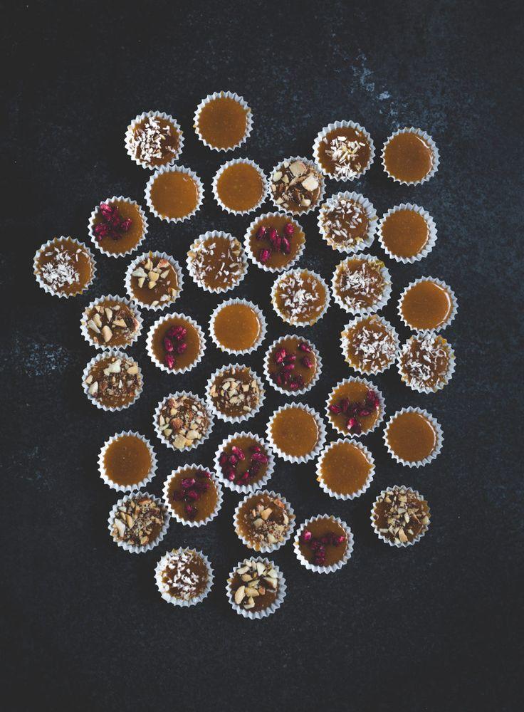 Knäck – fyra olika smaker toffel Candy
