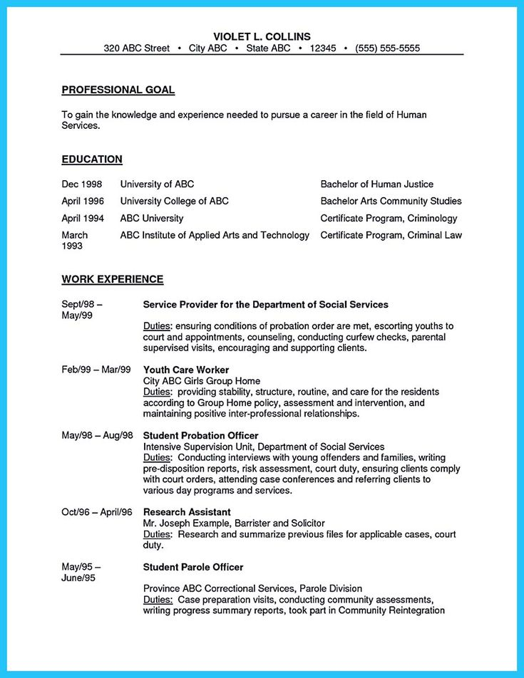 cool Perfect Correctional Officer Resume to Get Noticed, Check more at http://snefci.org/perfect-correctional-officer-resume-get-noticed