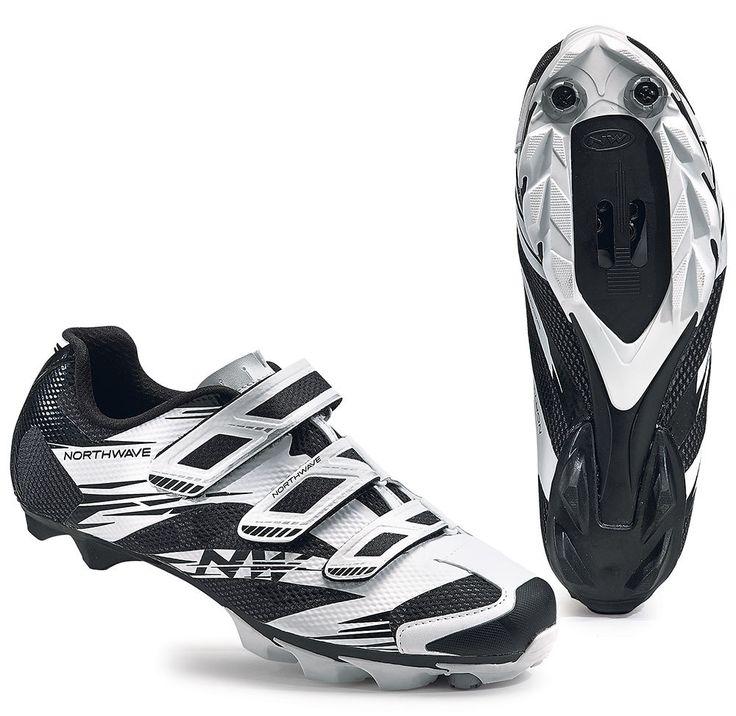 Northwave Scorpius 2 MTB Shoes - White-Black