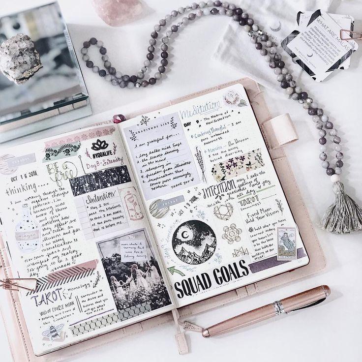 unglaublich  5 einfache Bullet Journal Dekoration Ideen