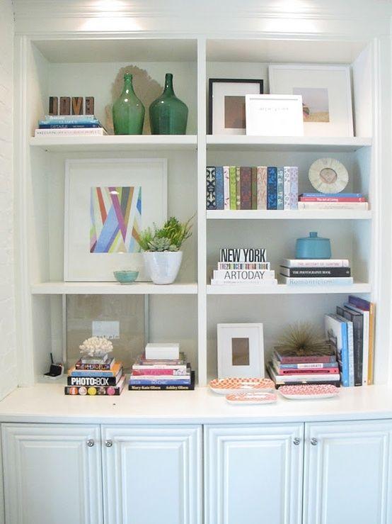 bookshelf styling. by MariaDeSousa