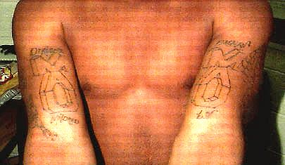 Photo Gallery of Gang Tattoos - What They are and What ...