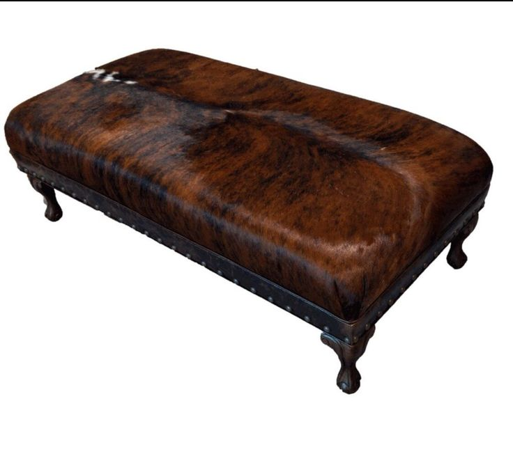 17 Best Ideas About Cowhide Ottoman On Pinterest Cowhide Furniture Cowhide Decor And Cow Hide