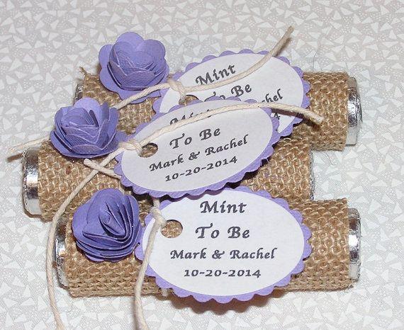 Wedding favors - Lavender Party favor - Purple party favors