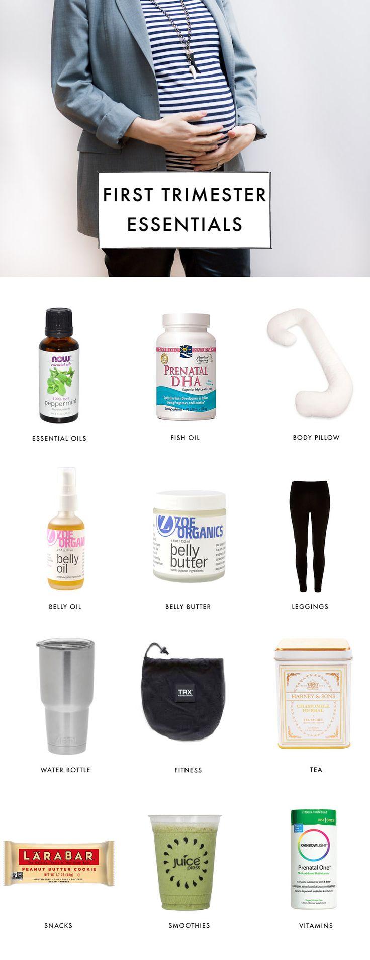 First Trimester I Pregnancy Essentials  @parkeretc